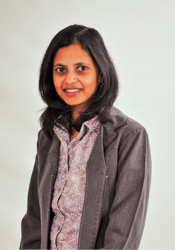 Raksha Pahlad speaking with Inter-View during 2016